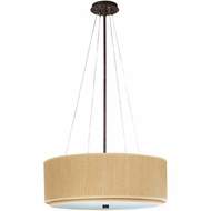 ET2 E95060 Elements Small Modern Pendant Light Fixture with Variety of Finish/Shade/Lamping Options