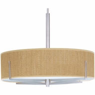 ET2 E95308 Elements 26  Large Stem-mounted Contemporary Pendant Light with Round or Square Shade