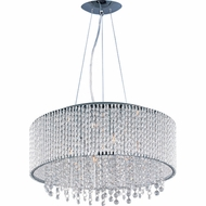 ET2 E2313710PC Spiral Large 10-light Crystal Pendant Light