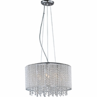 ET2 E2313510PC Spiral Small 7-lamp Crystal Pendant Lighting