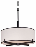 Maxim 12053WTOI Nexus Modern Oil-Rubbed Bronze Pendant Drum Light