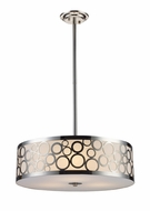 ELK 310253 Retrovia Modern Drum Pendant Light Fixture