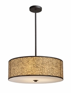 ELK 310475 Medina Large 5-lamp Modern Pendant Lighting in Aged Bronze