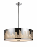 ELK 310395 Skyline Large 5-lamp Contemporary Pendant Lighting