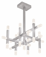 Sonneman 2135.16 Connetix Large Contemporary 19 Inch Tall LED Ceiling Pendant Lighting - Bright Satin Aluminum