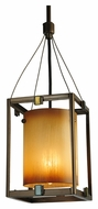 Meyda Tiffany 125508 Kitzi 6 Inch Wide Modern Mini Pendant Lamp