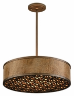 Corbett 135-44 Mambo Small 20 Inch Diameter Bronze Drum Pendant Light