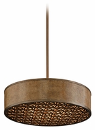 Corbett 135-45 Mambo Contemporary Medium 26 Inch Diameter Pendant Drum Light