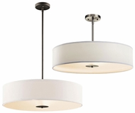 Kichler 42122 Contemporary Large 24 Inch Diameter Drum Pendant Light