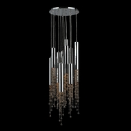 Worldwide W33138C16-GT Metropolis Chrome Finish 16 Inch Diameter Multi Pendant Lighting