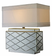 Dimond D1835 Wellsville 22 Inch Tall Mirrored Living Room Table Lamp