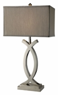 Dimond D1864 Rowley 32 Inch Tall Polished Nickel Table Light - Contemporary