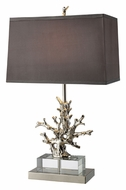 Dimond D1867 Covington 29 Inch Tall Polished Nickel Table Lamp Lighting