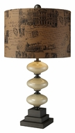 Dimond D1890 Brantley Contemporary 28 Inch Tall Cream Table Lighting