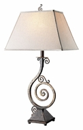 Dimond D1982 Biscayne 37 Inch Tall Burnt Copper Living Room Table Lamp