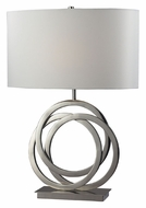 Dimond D2058 Trinity Contemporary 25 Inch Tall Table Light - Polished Nickel