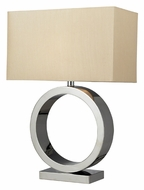Dimond D2201 Aurora Chrome Ring 27 Inch Tall Contemporary Table Lamp
