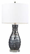 Dimond D2263 Cooper Navy Pearl 25 Inch Tall Modern Ceramic Lamp