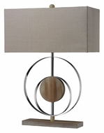 Dimond D2297 Shiprock Modern Bleached Wood 22 Inch Tall Table Light
