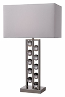 Dimond D2324 Fort Sumner 28 Inch Tall Modern Nickel Table Lamp Lighting