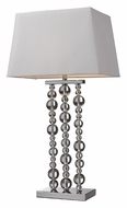 Dimond D2325 Belen 30 Inch Tall Chrome Table Top Lighting - Modern