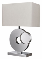 Dimond D2342 Tuba 21 Inch Tall Chrome Finish Modern Table Lamp Light