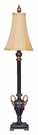Dimond 91-588 Double Swan Candlestick Traditional Bedroom Table Lamp - 33 Inches Tall