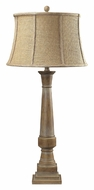 Dimond 93-9245 Lyerly Bleached Wood 37 Inch Tall Lighting Table Lamp