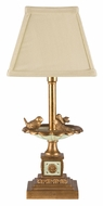 Dimond 93-935 Bird Bath 15 Inch Tall Gold Leaf Finish Table Lighting Lamp