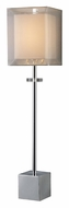Dimond D1408 Sligo 30 Inch Tall Contemporary Table Lamp - Chrome