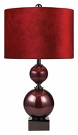 Dimond 111-1073 Everson Cherry Glass 23 Inch Tall Living Room Table Lamp