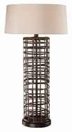 Dimond 111-1112 Hillbray 30 Inch Tall Contemporary Table Lighting - Rattan