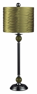 Dimond 111-1115 Carrington Gold Shade 32 Inch Tall Living Room Table Lamp
