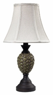 Dimond 113-1131 Wood Valley 28 Inch Tall Ceramic Lamp - Aged Green Glaze
