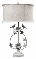 Dimond 113-1134 Saint Louis Heights Antique White Finish 30 Inch Tall Lighting Table Lamp
