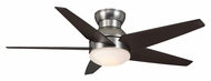 Casablanca 59022 Isotope Brushed Nickel Finish 52 Inch Span Modern Ceiling Fan
