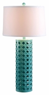 Kenroy Home 32272TEAL Marrakesh 30 Inch Tall Living Room Table Lamp - Teal
