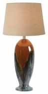 Kenroy Home 32147CG Lavo 30 Inch Tall Transitional Ceramic Lamp