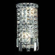 Worldwide 23610 Worldwide 6 2-light Crystal Style Wall Sconce w/ Accent