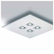 Zaneen D92064 Polifemo Contemporary Semi-Flush Ceiling Light
