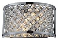 ELK 31100/2 Genevieve Chrome Finish 10 Inch Wide Crystal Wall Light Fixture