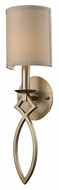 ELK 31120/1 Estonia Aged Silver 19 Inch Tall Wall Mount Light Fixture