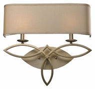 ELK 31121/2 Estonia Transitional 2 Lamp 20 Inch Wide Lighting Sconce - Aged Silver