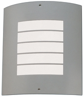 Kichler 6040 Newport 10.5 Inch Exterior Wall Sconces With Horizontal Stripes