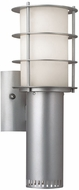 Philips F8495-41 Hollywood Hills Contemporary Outdoor Silver Wall Sconce - 15 inches tall