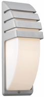 PLC 1832-SL Synchro Outdoor Wall Light in Architectural Silver