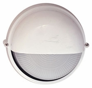 PLC Marine Outdoor Wall Light in White