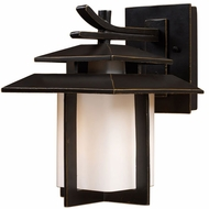 ELK 42170-1 Kanso Asian Outdoor 8 inch Wall Sconce
