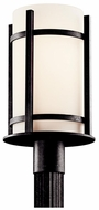 Kichler 49123 Camden 17 Inch Tall Modern Lamp Post Light Fixture - Anvil Iron