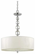 Quoizel DW1824C Downtown Contemporary Large Pendant Light